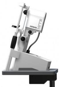 Gerät für das Fotografieren der Netzhaut und Sehnervs bei Glaukom und Laser – Konfokalmikroskopie der Hornhaut