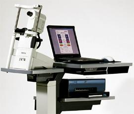 HRT 3  heiidelberg  engneering Apparatur für das Fotografieren des Sehnervs, der Netzhaut und Hornhaut