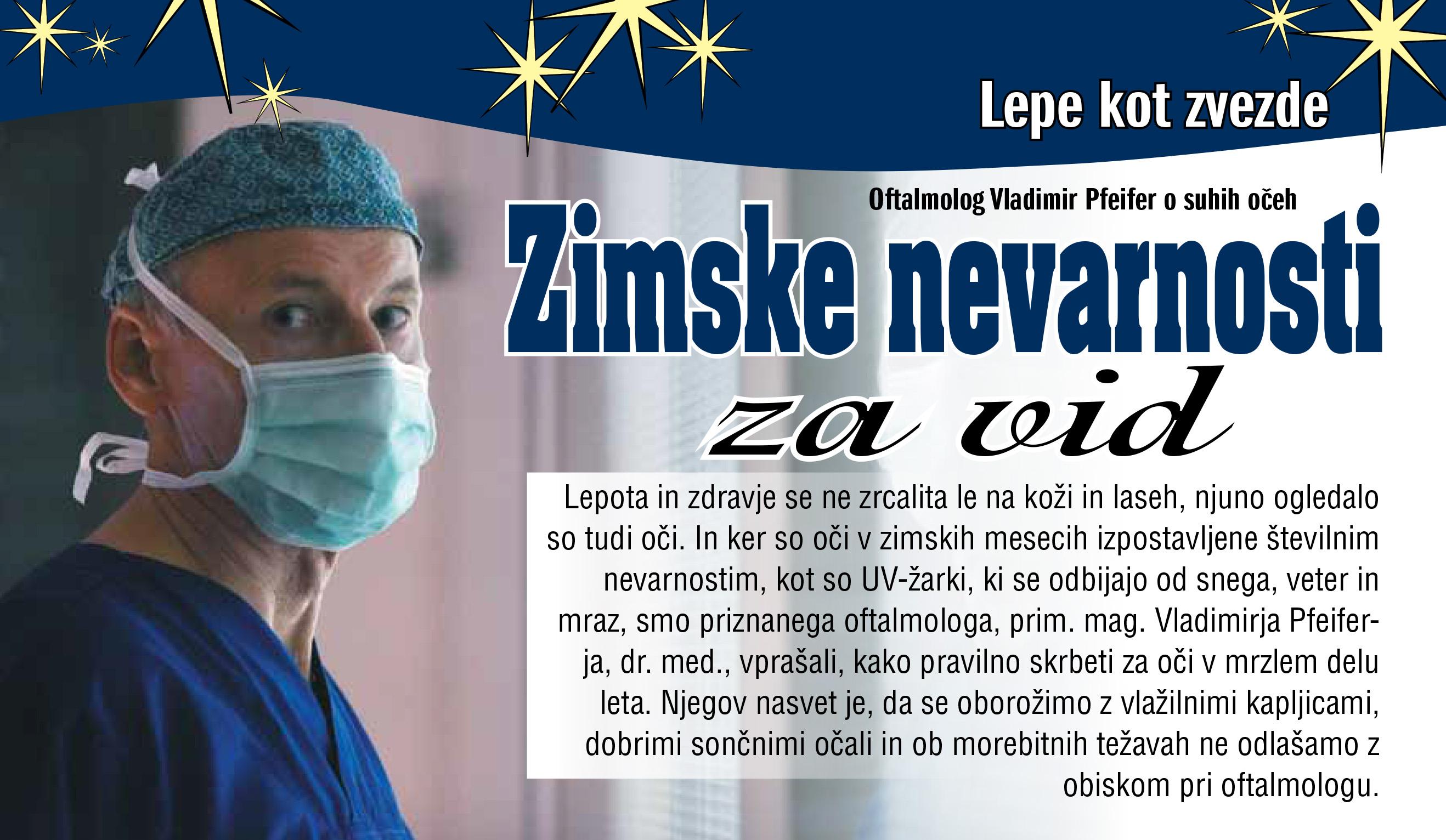 Revija Zvezde - Zimske nevarnosti za vid - februar 2019