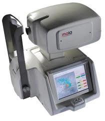 Mikroperimeter, aparat za natančno točkovno določanje vidnega polja, predvsem pri okvari makule