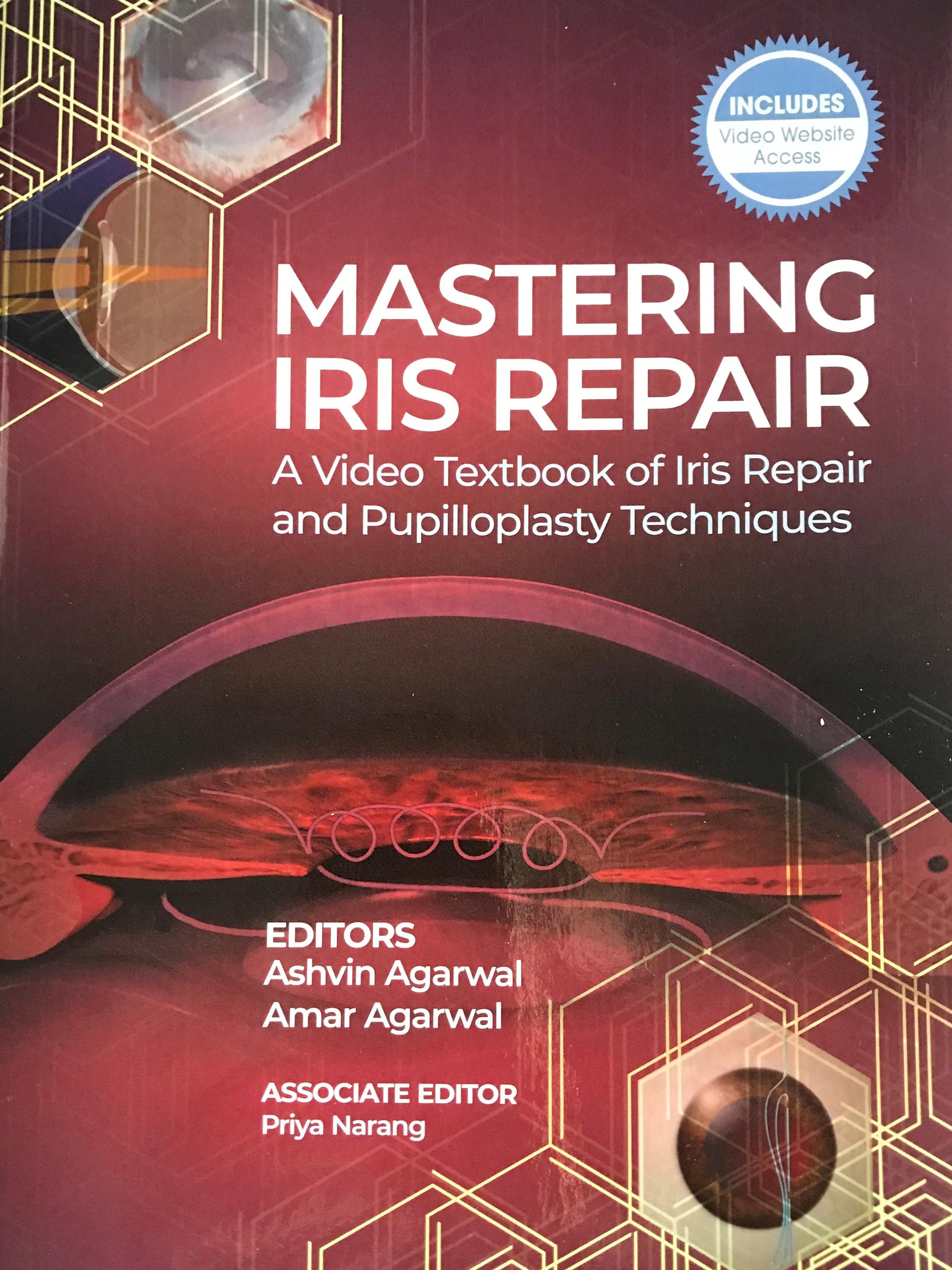 Knjiga Mastering iris repair s poglavjem Dr. Vladimirja Pfeiferja - november 2020
