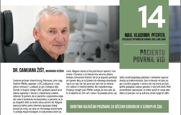 Revija Obrazi - Večer, 100 najvplivnejših Slovencev