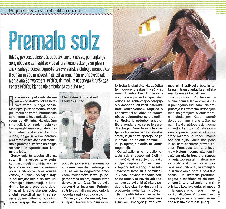 Revija Zarja - Premalo solz - maj 2019